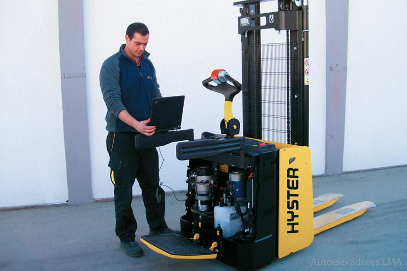 Apilador eléctrico para hombre caminando/parado Hyster S1.5S-1.5SL full