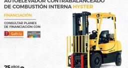 Autoelevador contrabalanceado combustión interna Hyster H40-70FT-BR