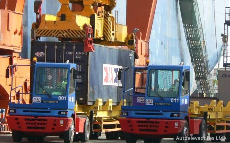 Tractor Portuario 4×2 Serie YT 222 full